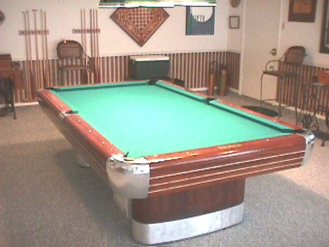 Kling - Brunswick anniversary pool table for sale